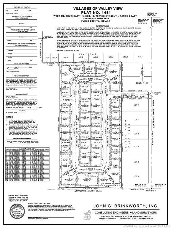 3012 Masters (Lot 14) Drive, Floyds Knobs, IN 47119 (#2020012198) :: Impact Homes Group