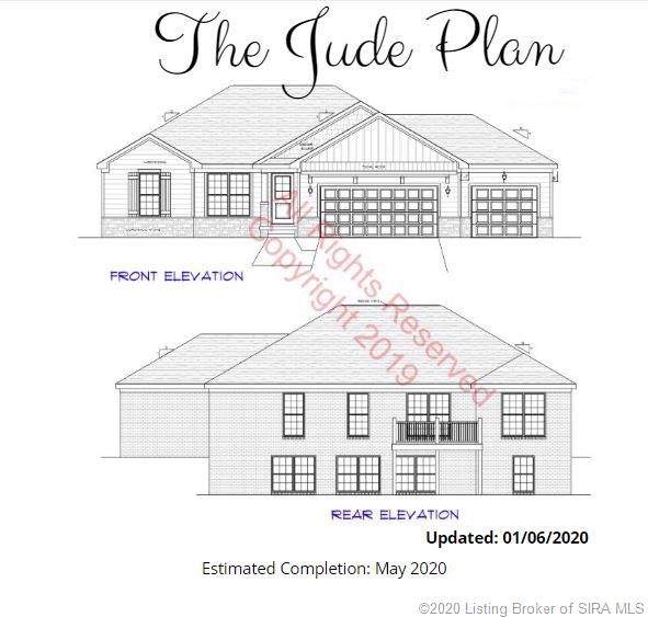 7003 Copperfield Court Lot 56, Charlestown, IN 47111 (#202005126) :: The Stiller Group