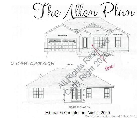 7102 Mountain Ridge Way Lot 86, Charlestown, IN 47111 (#202006189) :: Impact Homes Group