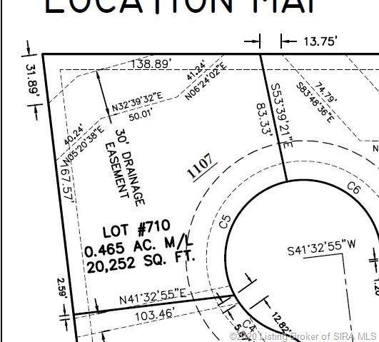 1107 Erica Lot # 710 Circle, Sellersburg, IN 47172 (#202008004) :: The Stiller Group