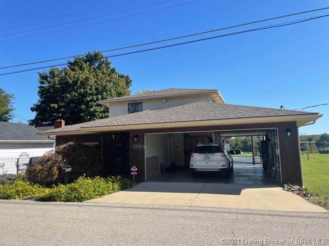 6906 Longview Beach Road, Jeffersonville, IN 47130 (#2021011627) :: The Stiller Group