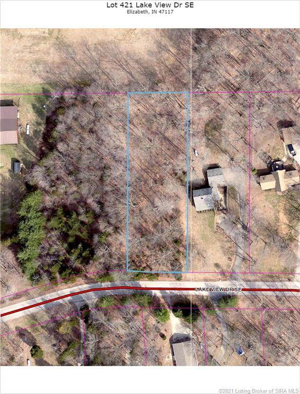 Lake View Drive SE Lot 421, Elizabeth, IN 47117 (#202105513) :: Impact Homes Group