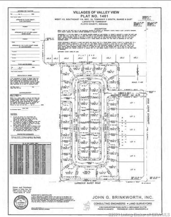 3026 Masters (Lot 7) Drive, Floyds Knobs, IN 47119 (#202105902) :: The Stiller Group