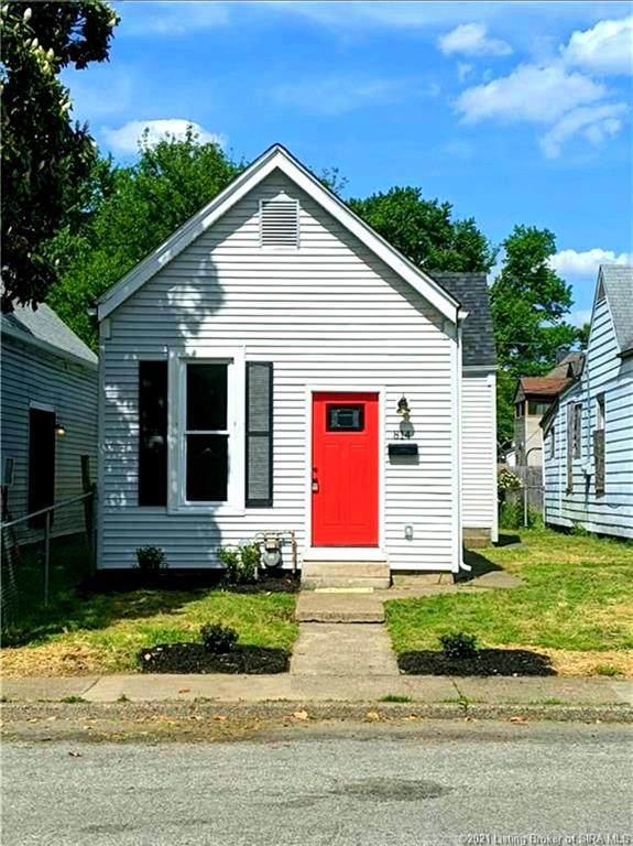 814 E 11th Street, New Albany, IN 47150 (#202108617) :: The Stiller Group