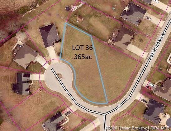 8403 Aberdeen (Lot 36) Lane, Charlestown, IN 47111 (MLS #202108700) :: The Paxton Group at Keller Williams Realty Consultants