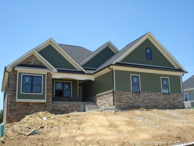 2017 Andres Way - Lot 42, Floyds Knobs, IN 47119 (MLS #201808401) :: The Paxton Group at Keller Williams