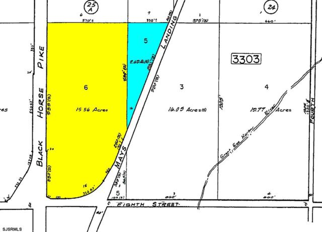 Black Black Horse Pike And Eigth Street Folsom Borough, Hammonton, NJ 08037 (MLS #509940) :: The Ferzoco Group