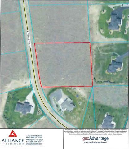 TBD High Creek Lane, Idaho Falls, ID 83406 (MLS #2117258) :: The Perfect Home-Five Doors