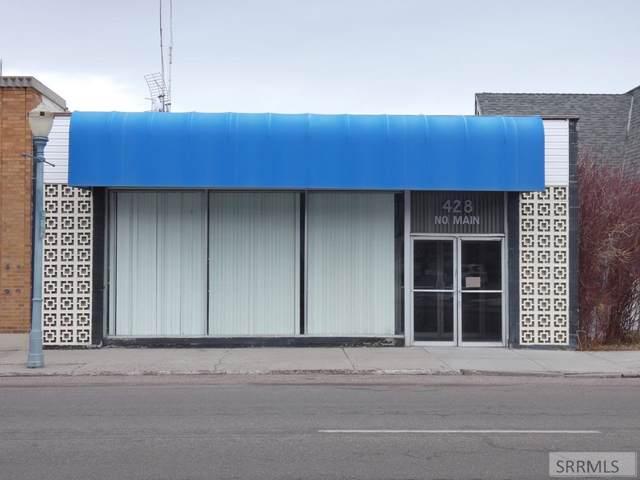 428 N Main Street, Pocatello, ID 83204 (MLS #2126256) :: Silvercreek Realty Group