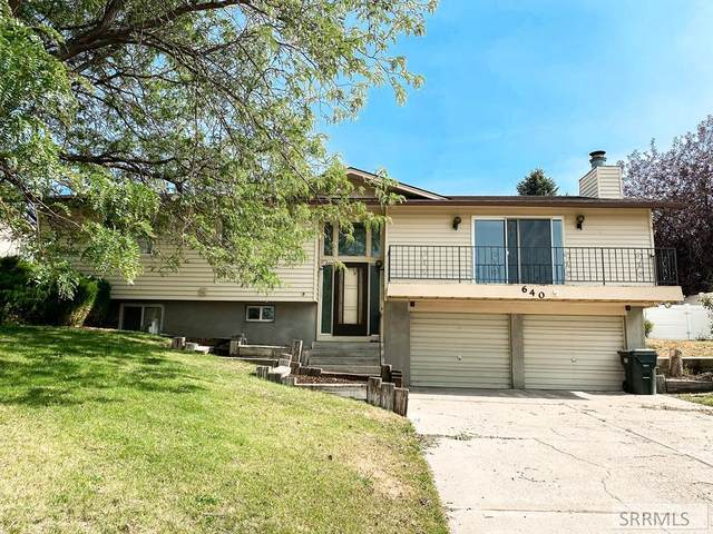 640 Bitterroot Drive, Pocatello, ID 83201 (MLS #2132372) :: Silvercreek Realty Group