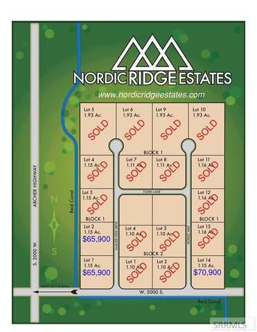 Lot 2 Glacier View Drive, Rexburg, ID 83440 (MLS #2138683) :: The Perfect Home