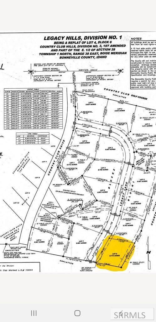 TBD Legacy Lane, Idaho Falls, ID 83404 (MLS #2139727) :: Team One Group Real Estate