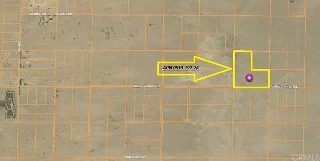 0 Valley Center, Newberry Springs, CA 92365 (#CV21137355) :: The Kohler Group