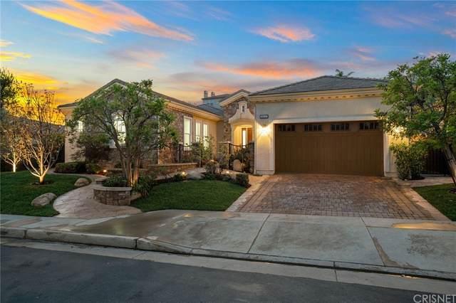 20227 Via Madrigal, Porter Ranch, CA 91326 (#SR21149130) :: Millman Team
