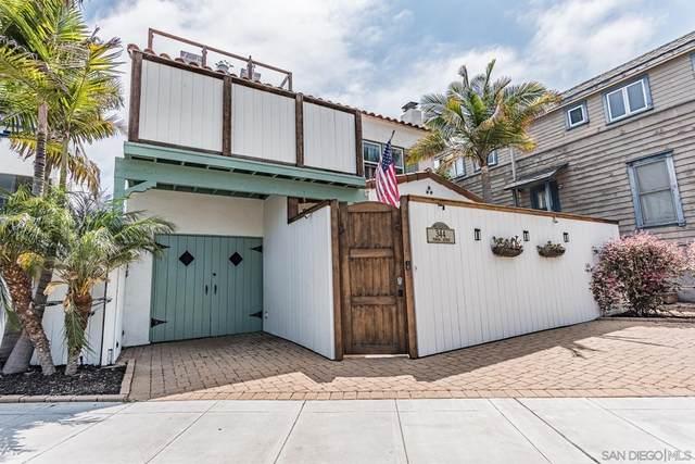 344 Pomona Ave, Coronado, CA 92118 (#210019547) :: Powerhouse Real Estate