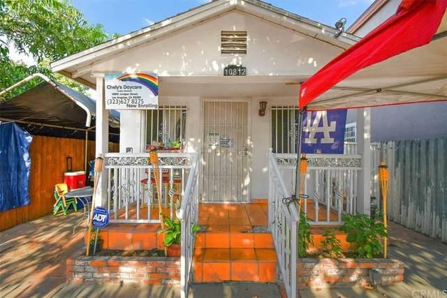 10812 Juniper Street, Los Angeles (City), CA 90059 (#DW21153662) :: Robyn Icenhower & Associates