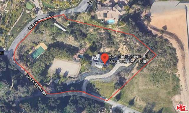 427 Long Canyon Road, Bradbury, CA 91008 (#21752998) :: Jett Real Estate Group