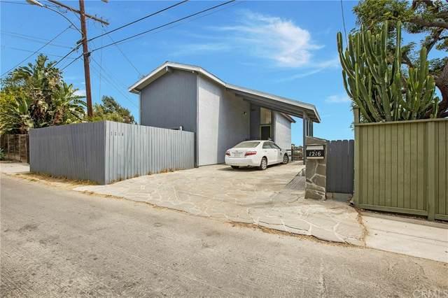 1216 Montecito Drive, Los Angeles (City), CA 90031 (#OC21152116) :: Jett Real Estate Group