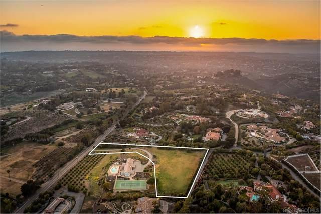 El Camino Del Norte, Rancho Santa Fe, CA 92067 (#210019967) :: Cochren Realty Team | KW the Lakes