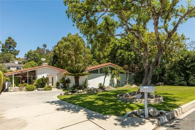 2213 Via Fernandez, Palos Verdes Estates, CA 90274 (#SB21155921) :: Robyn Icenhower & Associates