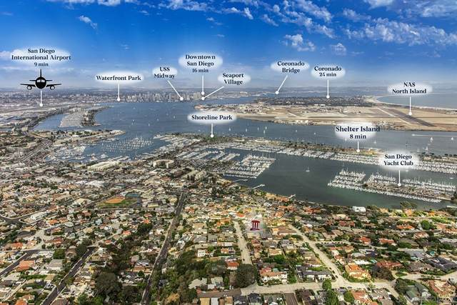 3243 Harbor View Dr, San Diego, CA 92106 (#210020315) :: Jett Real Estate Group