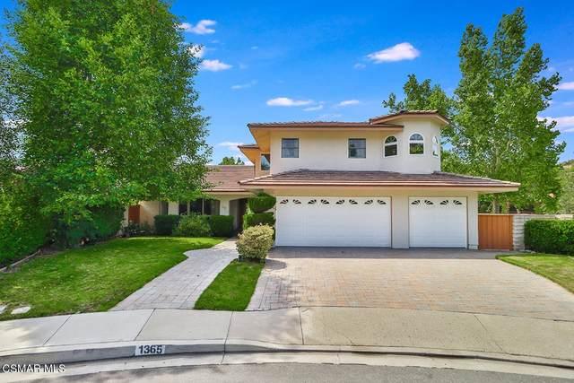 1365 Oldbury Place, Westlake Village, CA 91361 (#221003976) :: The DeBonis Team