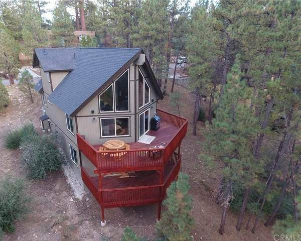 317 Hilltop Lane, Big Bear, CA 92314 (#OC21158597) :: The Marelly Group | Sentry Residential