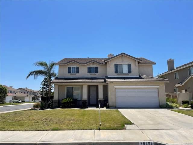 20781 Rosedale Drive, Riverside, CA 92508 (#PW21159246) :: The DeBonis Team