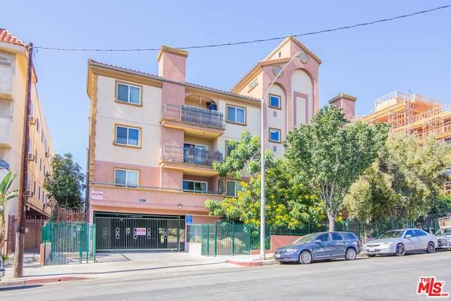 2811 Francis Avenue #207, Los Angeles (City), CA 90005 (#21763352) :: RE/MAX Masters