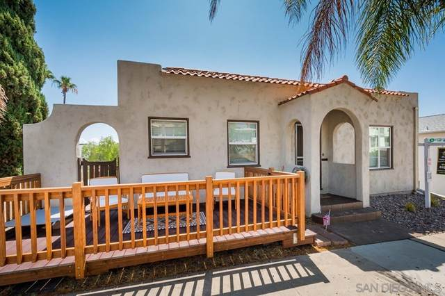 3707 09 Georgia St, San Diego, CA 92103 (#210020447) :: Latrice Deluna Homes