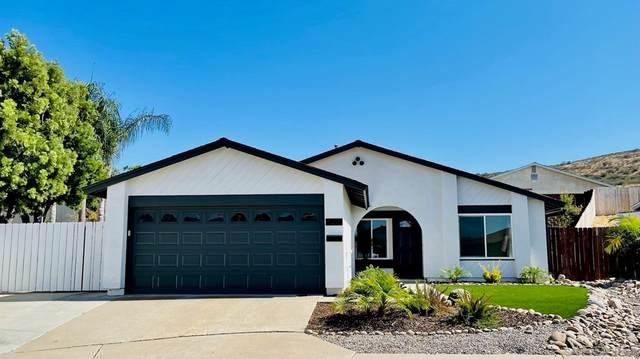 14419 Elmport Ln, Poway, CA 92064 (#210020472) :: Robyn Icenhower & Associates