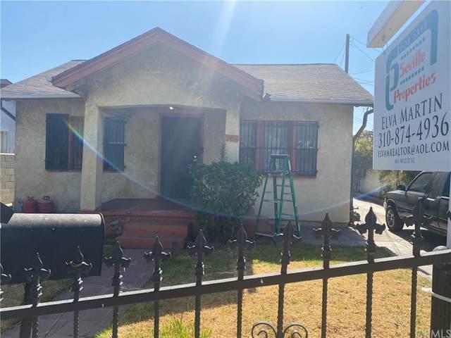 1236 S Truro Avenue, Inglewood, CA 90301 (#IN21159700) :: The Kohler Group