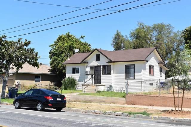 429 431 E 4th St. & E Ave., 91950 - National City, CA 91950 (#210020510) :: Mark Nazzal Real Estate Group