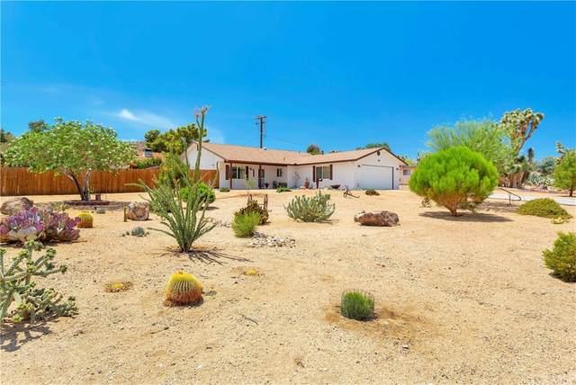 56885 El Dorado Drive, Yucca Valley, CA 92284 (#JT21159883) :: The Marelly Group   Sentry Residential