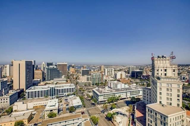 801 Ash Street #1901, San Diego, CA 92101 (#PTP2105110) :: Doherty Real Estate Group