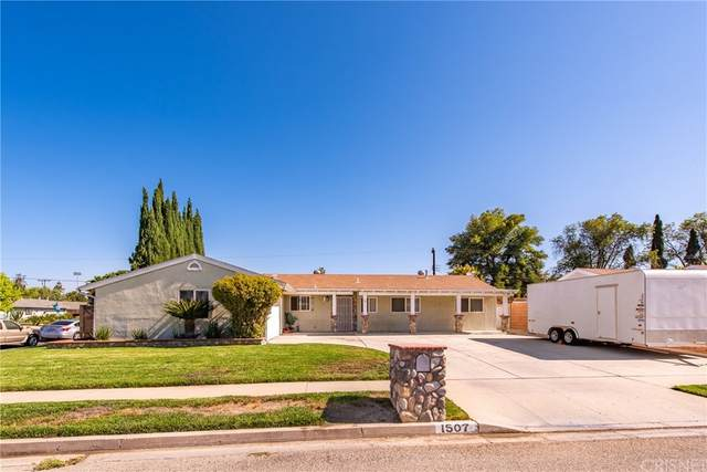1507 Hamilton Street, Simi Valley, CA 93065 (#SR21159183) :: Millman Team