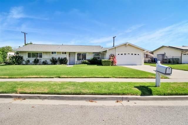 439 Vorale Avenue, Simi Valley, CA 93065 (#SR21158865) :: Millman Team