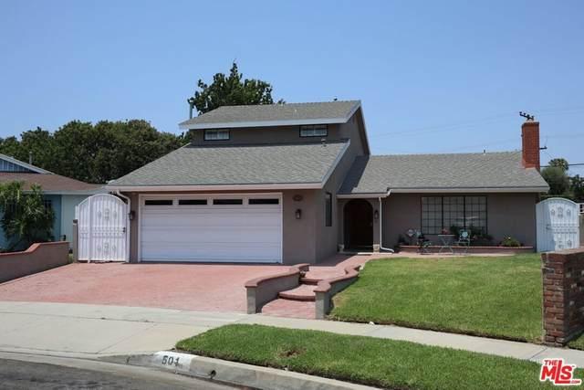 501 E Cheriton Drive, Carson, CA 90746 (#21763958) :: Eight Luxe Homes