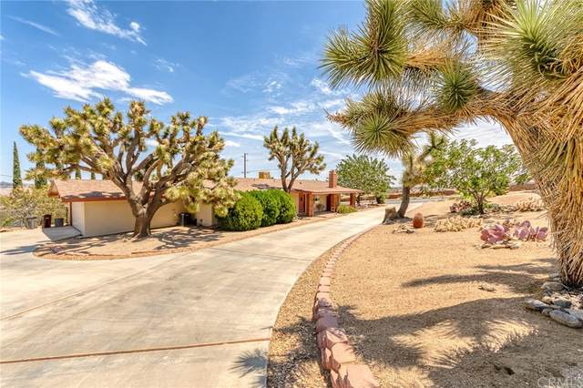 56884 La Cadena Road, Yucca Valley, CA 92284 (#JT21160721) :: The Marelly Group   Sentry Residential