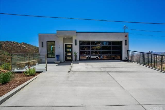 791 Latigo Canyon Road, Malibu, CA 90265 (#SR21160998) :: Team Tami