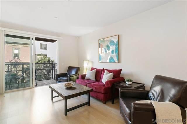 1225 Island Ave #209, San Diego, CA 92101 (MLS #210020681) :: CARLILE Realty & Lending