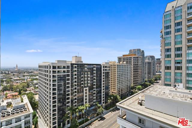10701 Wilshire Boulevard #1605, Los Angeles (City), CA 90024 (#21763724) :: The Miller Group