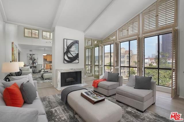 11805 Mayfield Avenue #302, Los Angeles (City), CA 90049 (MLS #21763730) :: CARLILE Realty & Lending