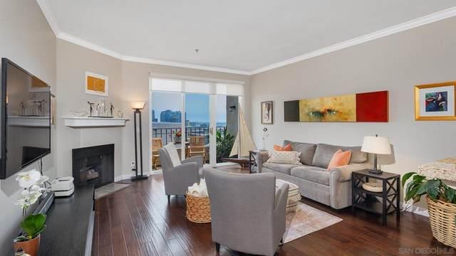 2445 Brant St #612, San Diego, CA 92101 (#210020760) :: The Laffins Real Estate Team