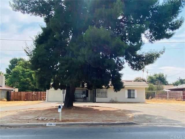 236 S San Jacinto Street, Hemet, CA 92543 (#SW21161458) :: The Laffins Real Estate Team