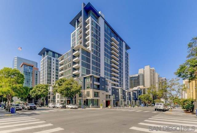 425 W Beech #220, San Diego, CA 92101 (MLS #210020765) :: CARLILE Realty & Lending
