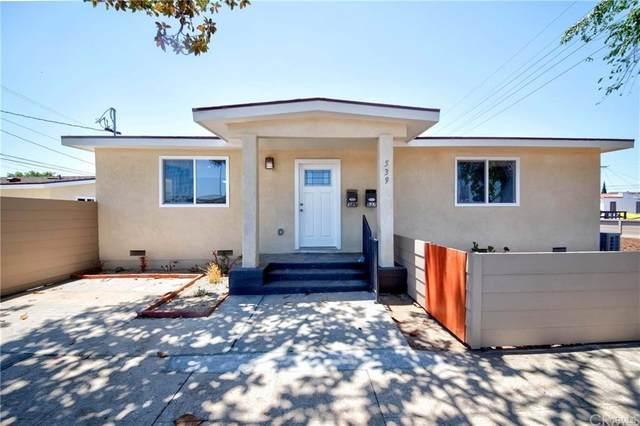 539 Hawaiian Avenue, Wilmington, CA 90744 (#SB21161478) :: Mark Nazzal Real Estate Group