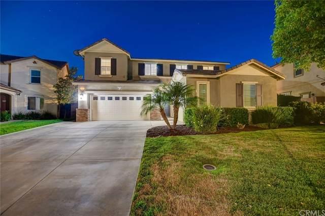 14417 Badger Lane, Eastvale, CA 92880 (#CV21152517) :: Mark Nazzal Real Estate Group