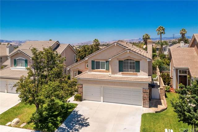 27543 Courtview Drive, Valencia, CA 91354 (#SR21161693) :: The Laffins Real Estate Team