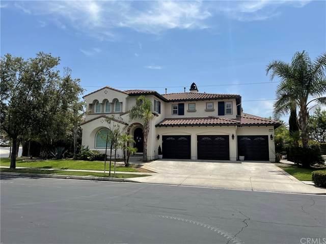 5391 Messina Way, Fontana, CA 92336 (#CV21161882) :: Jett Real Estate Group